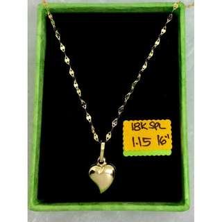 18K Special Saudi Gold (Necklace)