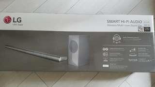 Wireless multi room sound bar