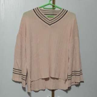 Oversize Blouse with flare sleeves