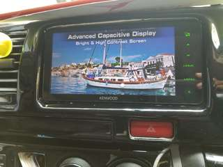 Kenwood  DDX717BT  almost new .  good working condition  no fault