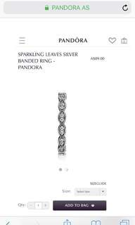 Pandora Stackable Ring