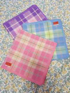 Handkerchief (pastel colors) 3pcs for Php100