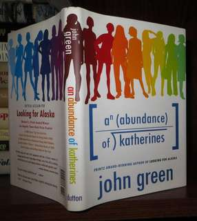 Hardcover An Abundance of Katherines by John Green