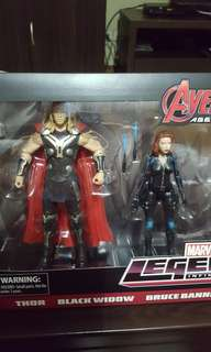 Marvel Legends Age of Ultron Thor and Black Widow