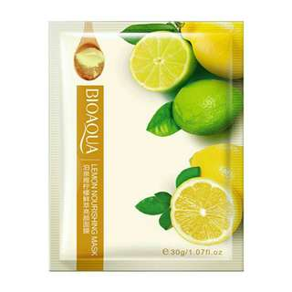 SHEET MASK LEMON