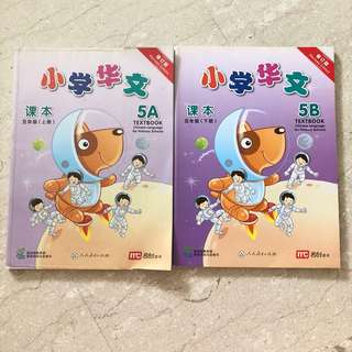 小学华文 Pri 5 Chinese text book (A & B) Revision Edition