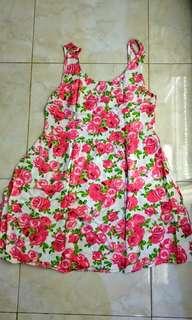 flower dress HnM