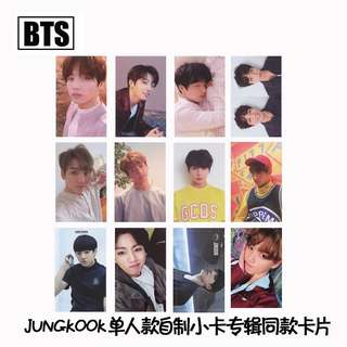 BTS JUNGKOOK UNOFFICIAL PHOTOCARDS