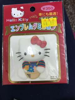 1998' hello kitty 車貼