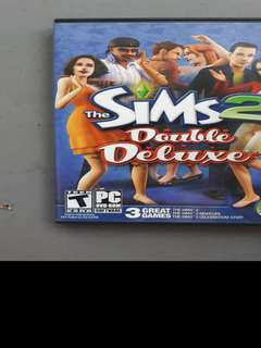 The Sims 2 Double Deluxe (3 games in 1 box)
