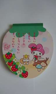 My melody memo(madd in Japan)