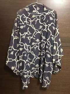 🚚 日本 手工羽織 浴衣 外搭