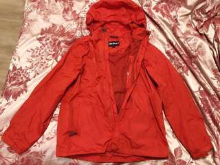 Women's Jacket hooded, waterproof, red - Peter Storm (From London)