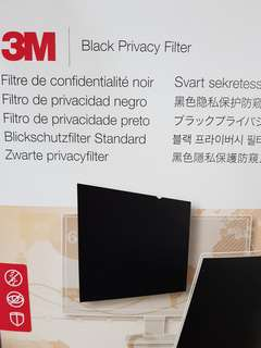 3M Black Privacy Filter