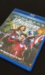 Avengers - Blu Ray and 3D