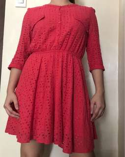 Candy Pink dress,fits to small to medium