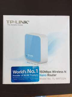 TP-LINK Wireless Portable Router - 手提旅遊路由器