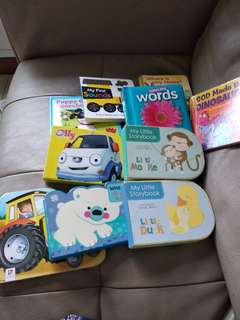 Books for baby 1 year old onward