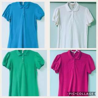 Apple & Eve Polo Shirts ❗️Free SF in Price for 4!