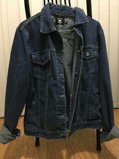 Boohoo oversized denim jacket s