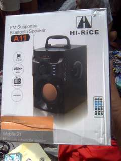 Brand new Bluetooth speaker sale. FM tft subwoofer. Usb   Call 81211422