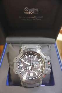 英國皇家空軍 x G-Shock GPS錶 GPW-1000RAF-1 2手 靚仔