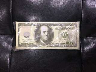 Memo Pad (Dollar)