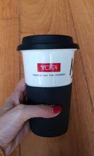 TUMI coffee mug