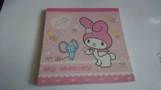 My Melody memo(made in Japan)