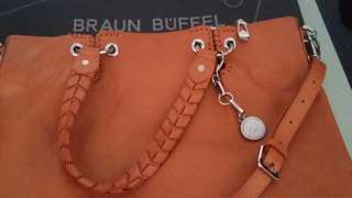 Authentic Braun buffel bag