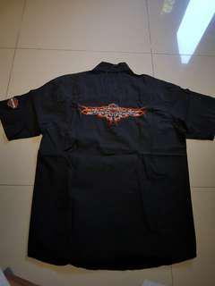 Kemeja Harley Davidson. M. 100% ori
