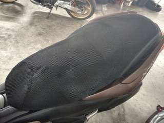 Bike seat cover for xmax