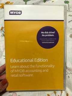 MYOB Educational Edition for students