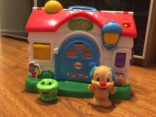 Fisher Price Activities House