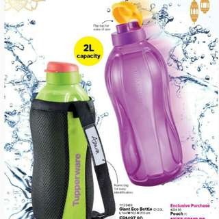 TUPPERWARE ECO BOTTLE 2L SET RAYA SPECIAL (LIMITED!!!)