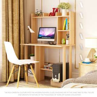 ★BEST HOME OFFICE★5 DESIGN★Computer Study Table★Desk with Shelves★Office Desk