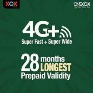 ONEXOX - MALAYSIA PREPAID SIM CARD
