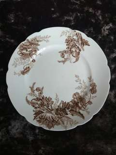 Paris Brown by Johnson Brothers Dinner Plates (set of 5)