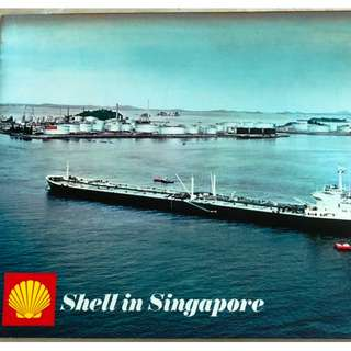 "(1970) ""Shell in Singapore"" - Commemorative Booklet on Shell in Singapore and the Pulau Bukom Refinery"
