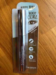 Root Curl Mascara Brown