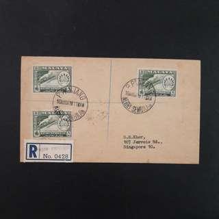 Negeri Sembilan stamps 1957