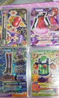 星夢學園遊戲稀有卡