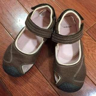 🚚 美國pediped咖啡/粉運動涼鞋