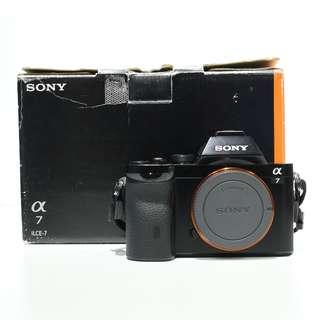 Sony A7 Mirrorless Camera (SC: 3K)