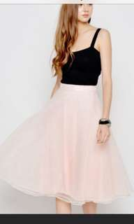 love and bravery tulle skirt