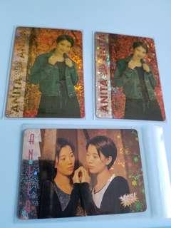 32張 yes卡 閃卡 袁詠儀 90年代 電影名星 yes card