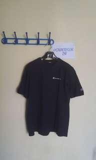 T-shirt Champion Mini Script Logo - Navy Blue