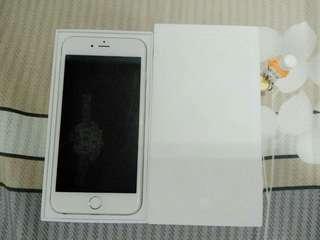 🚚 i6+ iPhone 6 plus 128g 銀  ( ios 11.2.1 )