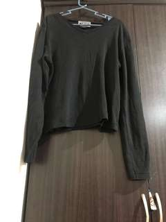 Abercrombie and Fitch black sweater,fits to medium