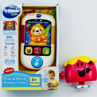 ~Ready Stocked~ VTech Play & move Puppy Tunes Music player